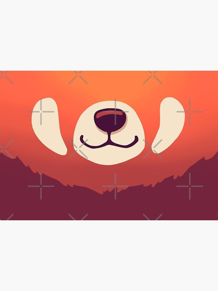 Red Panda Mask // Cute Wild Animal, Endangered Species, Kawaii by Geekydog