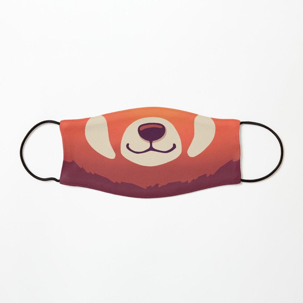 Red Panda Mask // Cute Wild Animal, Endangered Species, Kawaii Mask