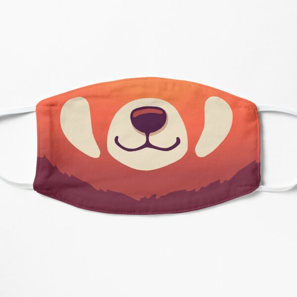 Red Panda Mask // Cute Wild Animal, Endangered Species, Kawaii Mask