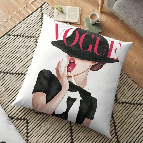 BEAUTY IN VOGUE Floor Pillow