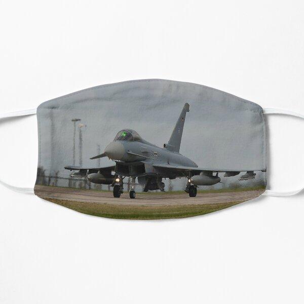 Eurofighter Typhoon aircraft taxiing towards Runway Flat Mask
