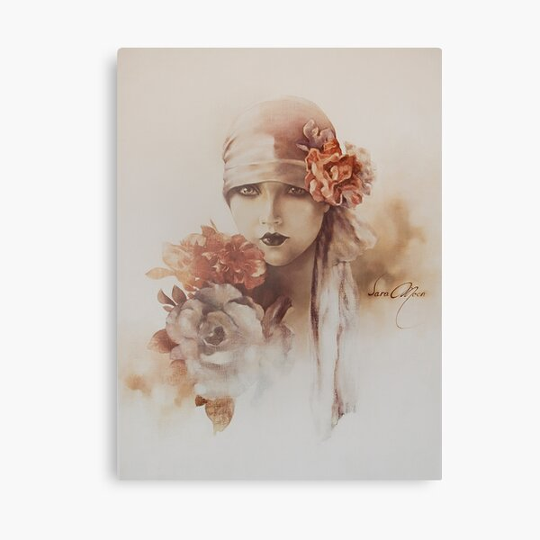 Claudia Canvas Print