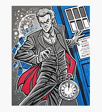 "The Twelfth Doctor (""All Thirteen!"") Photographic Print"