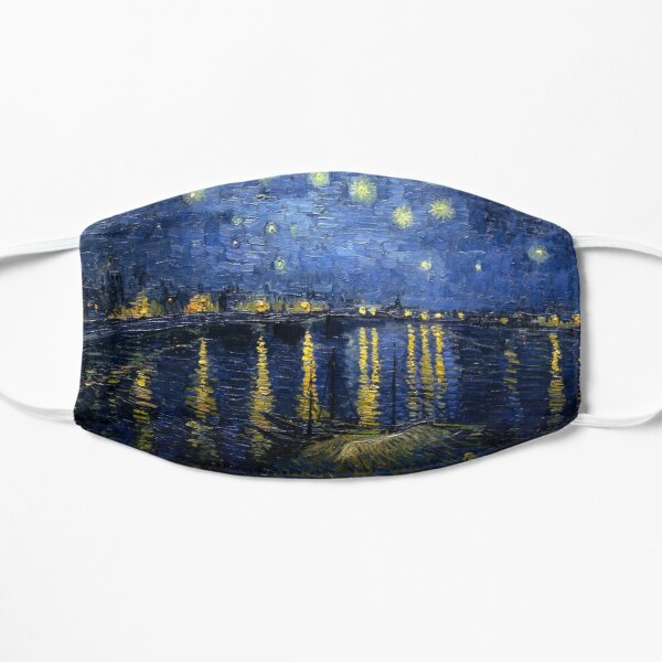 Starry Night Over the Rhone - Van Gogh Mask