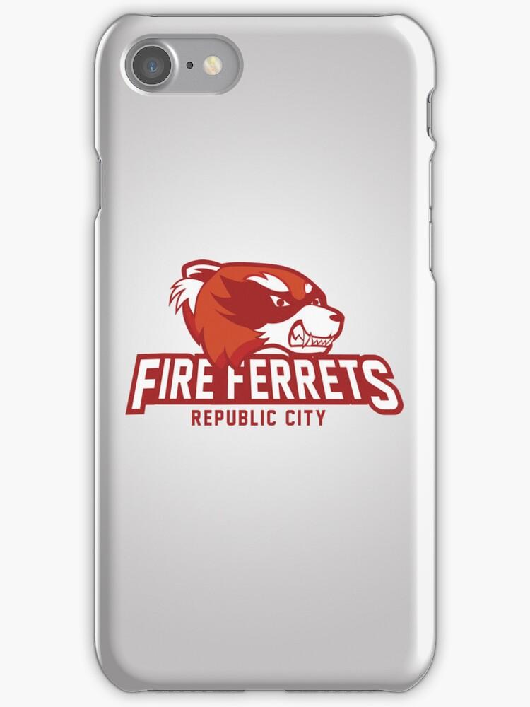 Republic City Fire Ferrets by Rachael Thomas