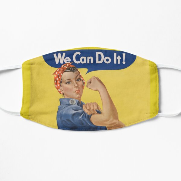 Iconic Rosie the Riveter Poster Mask