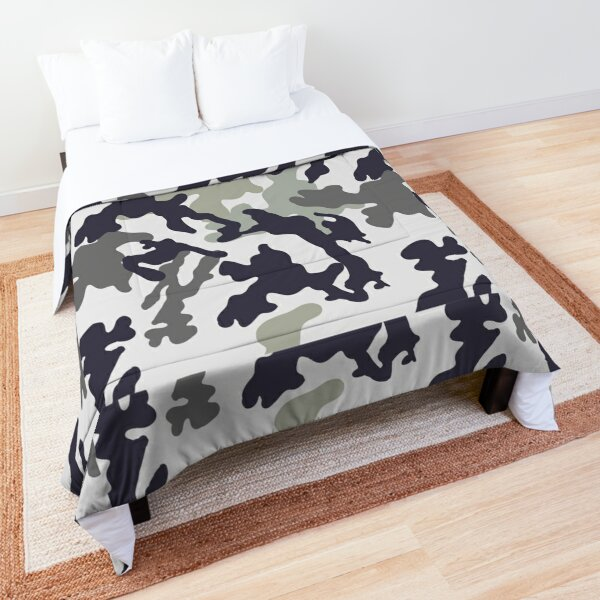 Camouflage Camo Background Comforter
