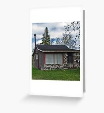 Stonefaced Cottage Greeting Card