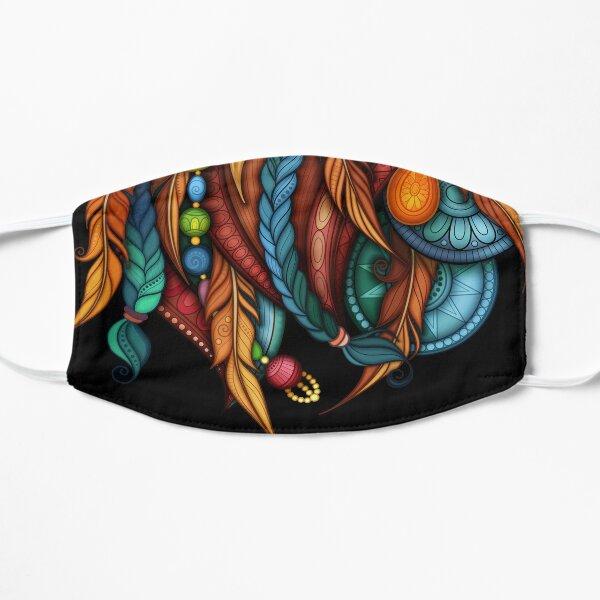 Tribal Rooster Design Mask