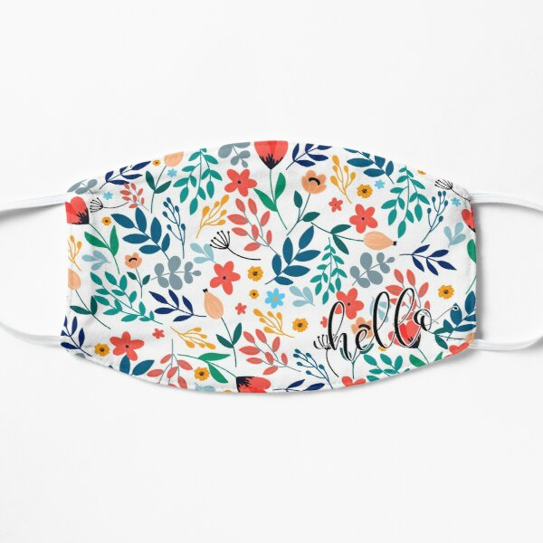 Ditsy Floral  Flat Mask
