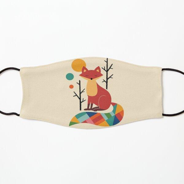 Rainbow Fox Kids Mask