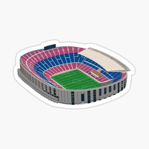 Camp Nou, Barcelona. Fútbol americano. Pegatina