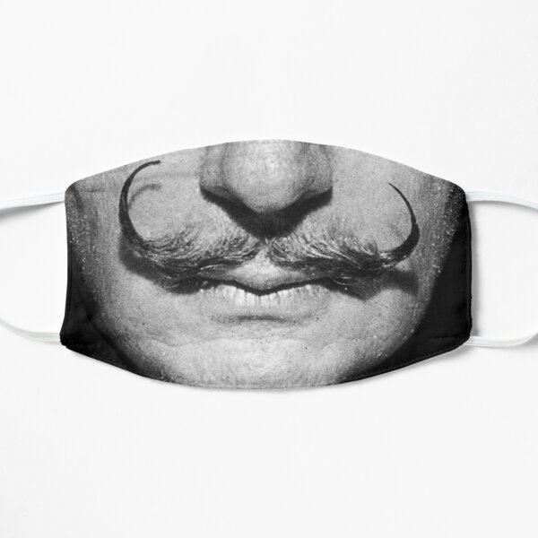 Salvador Dali Mustache Portrait Face Cover Mask
