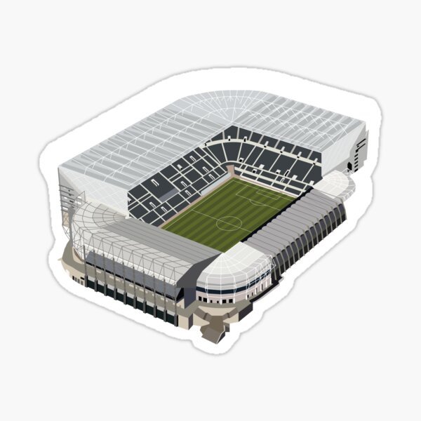 St James' Park, Newcastle. Football. Sticker
