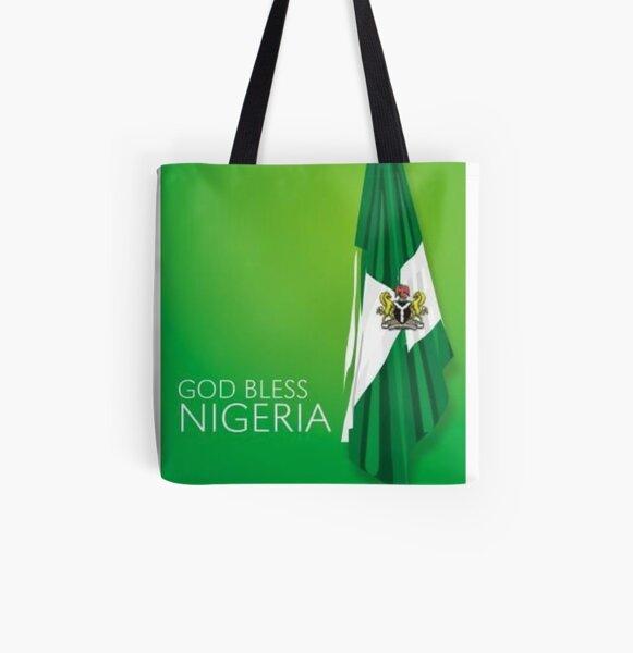 Canvas Shopping Tote Bag Senegalese Queen Crown Countries Senegalese Flag Beach Bags for Women