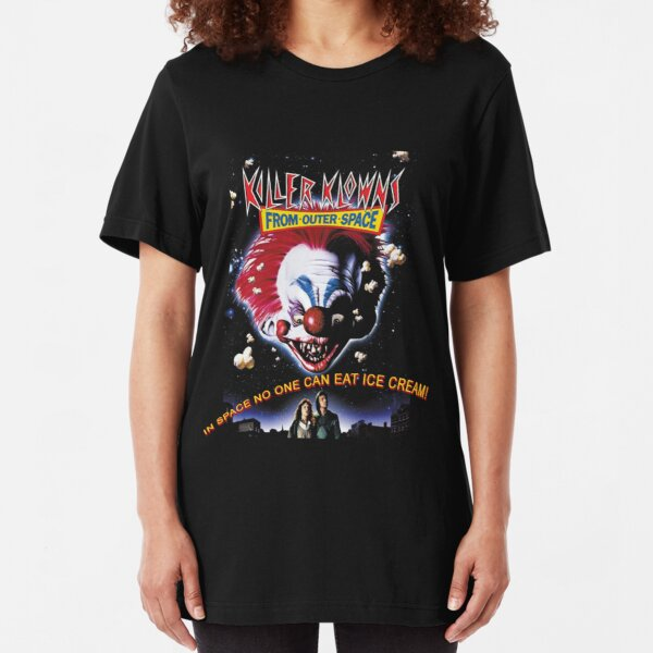 Killer Klowns From Outer Space Slim Fit T-Shirt