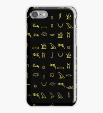 Egypt patterned. iPhone Case/Skin