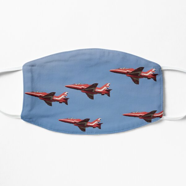 Red Arrows Flat Mask