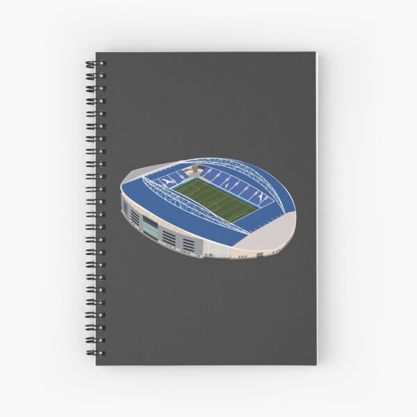 Brighton Stadium. Football. Spiral Notebook