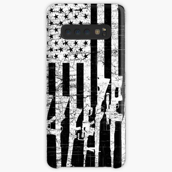 USA Gun Rifles Flag, American Patriotic 2A 2nd Amendment, Weapon, Guns Firearm Loving Design Art Gift Men Women Samsung Galaxy Snap Case