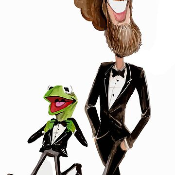 Steppin' Out with Jim and Kermit by Durkinworks