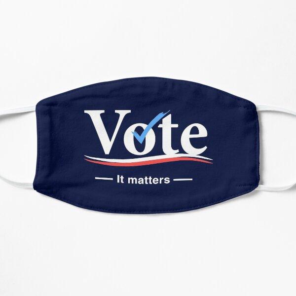 Vote (It Matters) Flat Mask