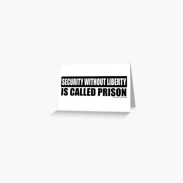 Lockdown Greeting Card