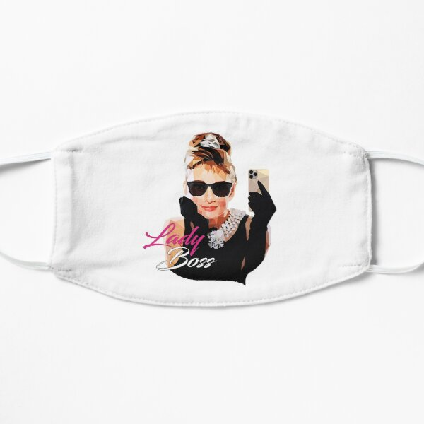 Audrey Hepburn Flat Mask
