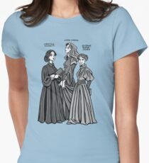 Pre-Raphaelite Sisters Women's Fitted T-Shirt