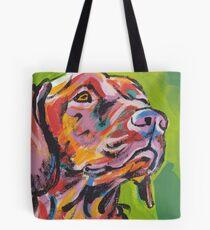 Vizsla Dog Bright colorful pop dog art Tote Bag