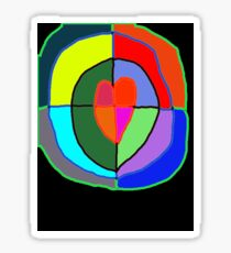 Heart of all Nations Sticker