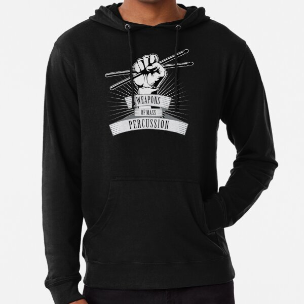 Weapons of Mass Percussion Lightweight Hoodie