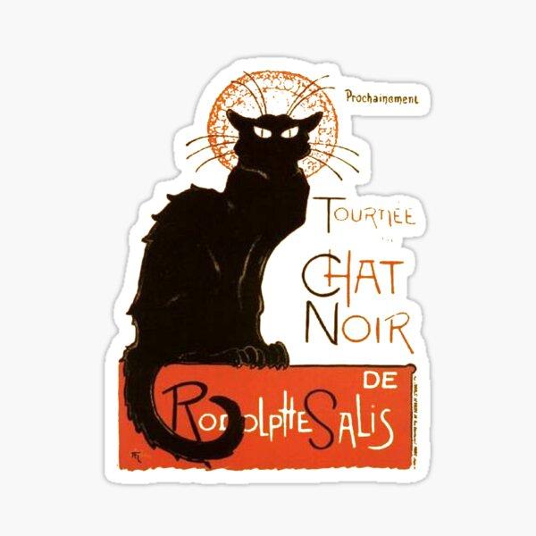 Tournee Du Chat Noir - After Steinlein Sticker