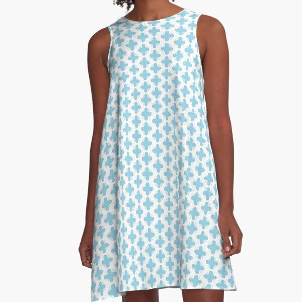 Geometrisches Muster, Pattern Design A-Linien Kleid