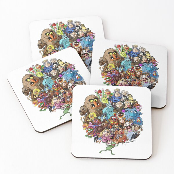 Muppets World of Friendship Coasters (Set of 4)