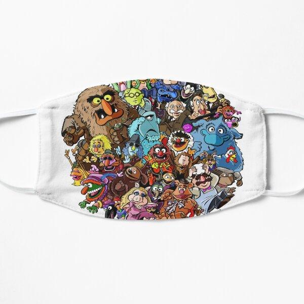 Muppets World of Friendship Flat Mask