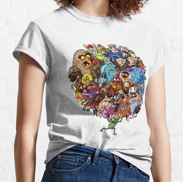 Muppets Welt der Freundschaft Classic T-Shirt