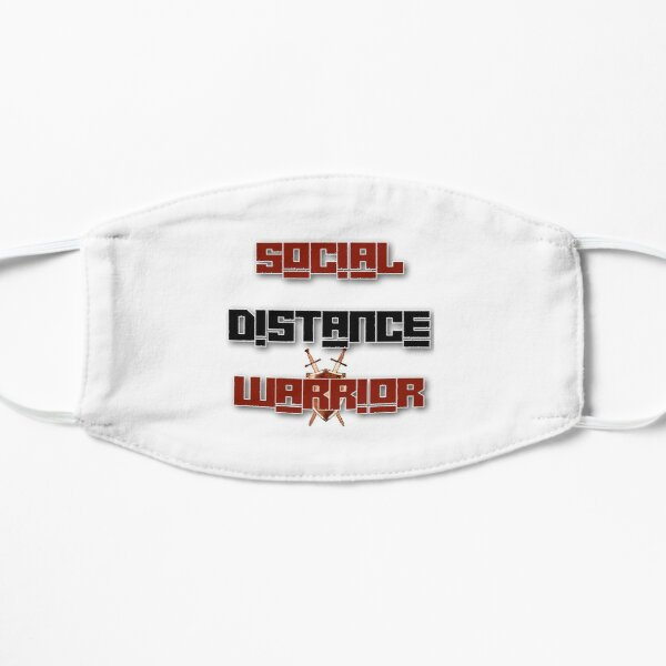Social Distance Warrior Mask