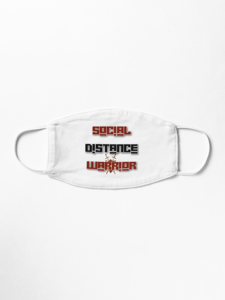 Alternate view of Social Distance Warrior Mask