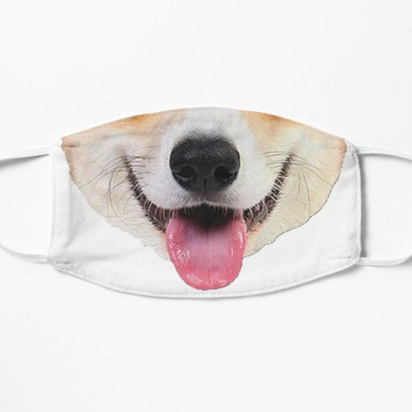 Corgi Doggo Face mask Mask