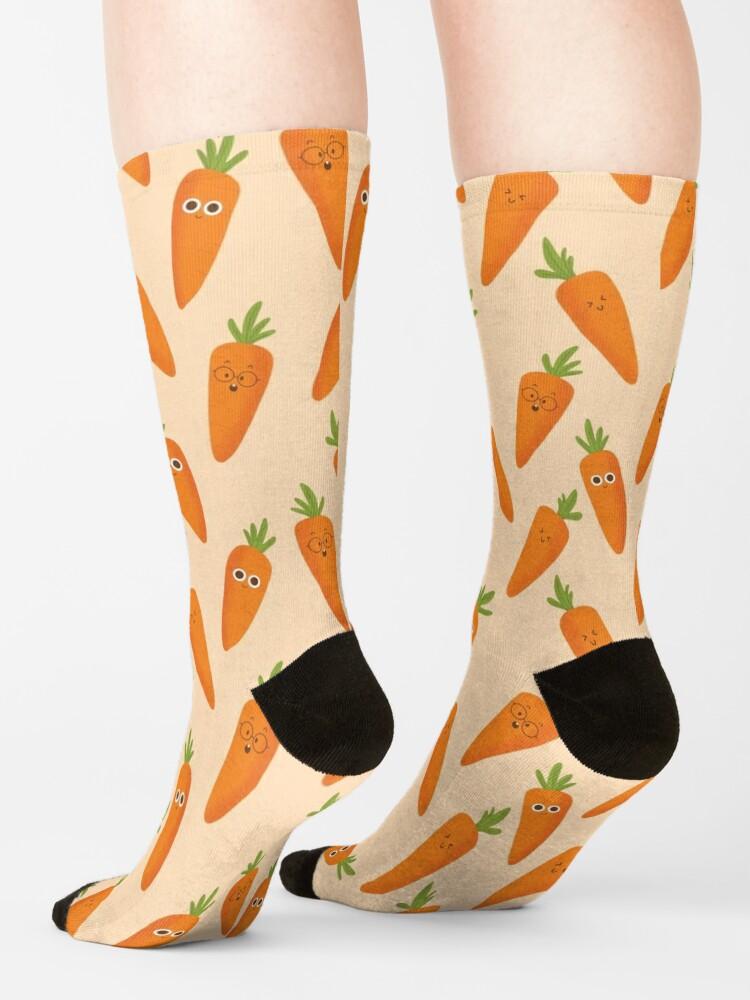 Alternate view of Happy Carrots Socks