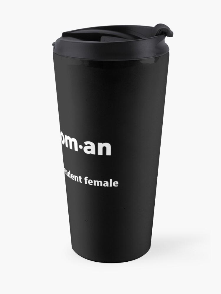 Alternate view of Nasty Woman Definition Travel Mug