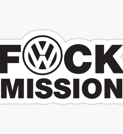 VW Humor Sticker