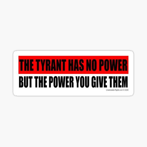 Tyrant Sticker