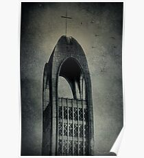Westminster Abbey Tower Poster