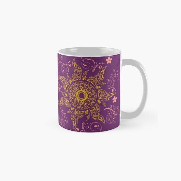 Mandala Gold Flower Classic Mug