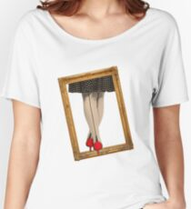 Hot Shoes - Red! Women's Relaxed Fit T-Shirt
