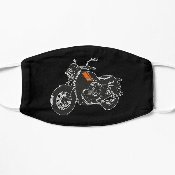 Sorteo Especial Moto-Guzzi-V7II Naranja 1 Mascarilla plana