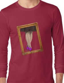 Hot Shoes - Purple! Long Sleeve T-Shirt