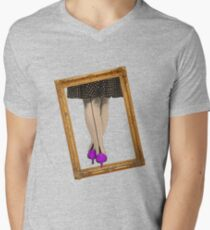 Hot Shoes - Purple! Mens V-Neck T-Shirt